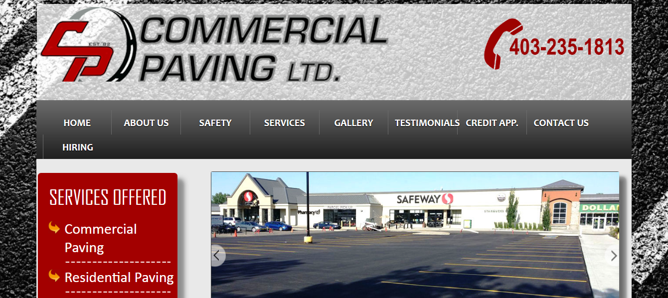 Commercial Paving Ltd.